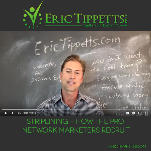 Striplining – How The Pro Network Marketers Recruit
