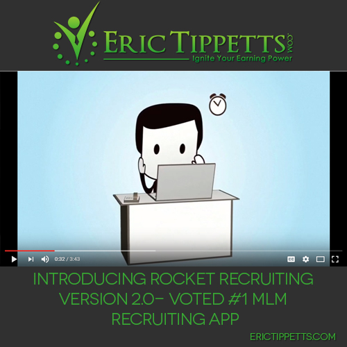Introducing Rocket Recruiting Version 2.0 – Voted #1 MLM Recruiting App